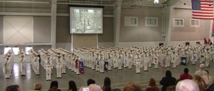 Navy Boot Camp Graduation of my nephew Josh