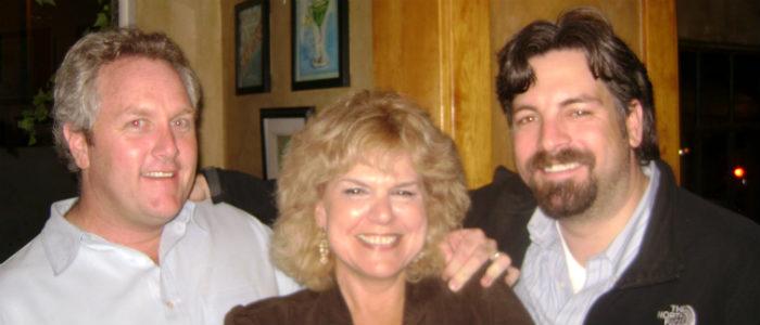 Political Thriller Writer Myrna Solokoff with Kelsey Grammer