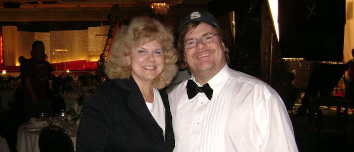 Myrna Solokoff with Kevin Farley - Star of American Carol