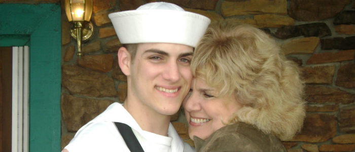 With my great naphew Josh at his graduation from Navy Boot Camp at Great Lakes